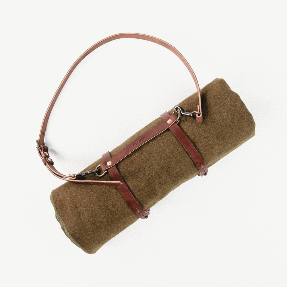 Blanket Roll Bradley Mountain With Shoulder Strap