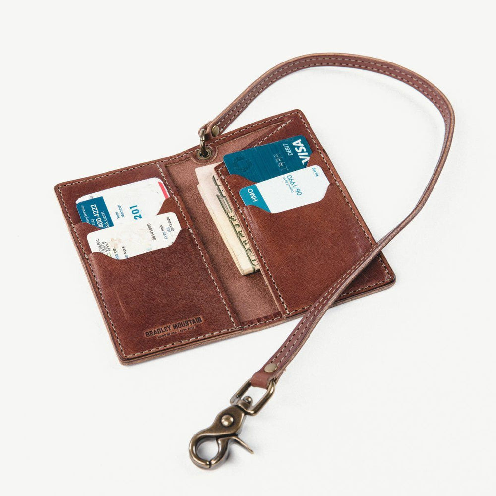 Vertical Wallet Bradley Mountain