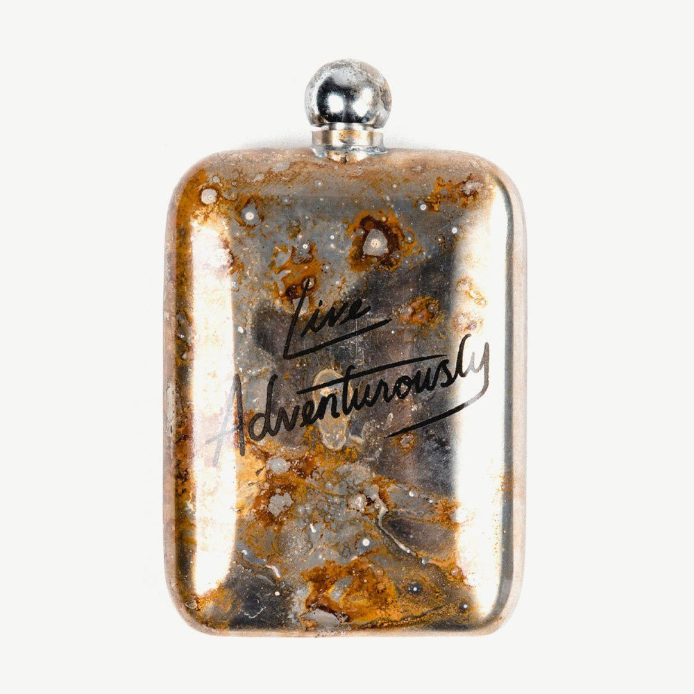 Live Adventurously Flask