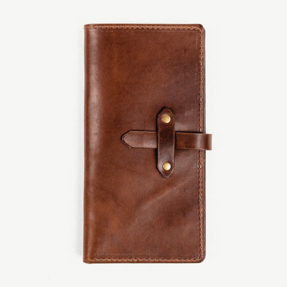 The Roma Wallet - Brown