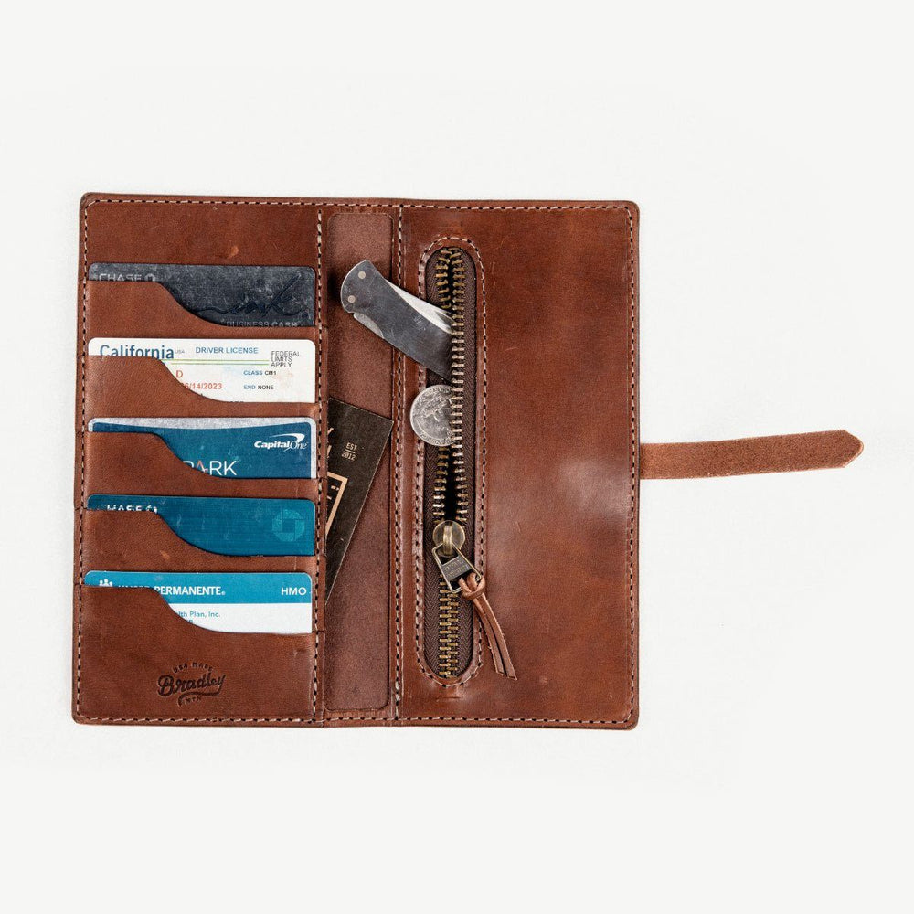 The Roma Wallet - Brown Bradley Mountain