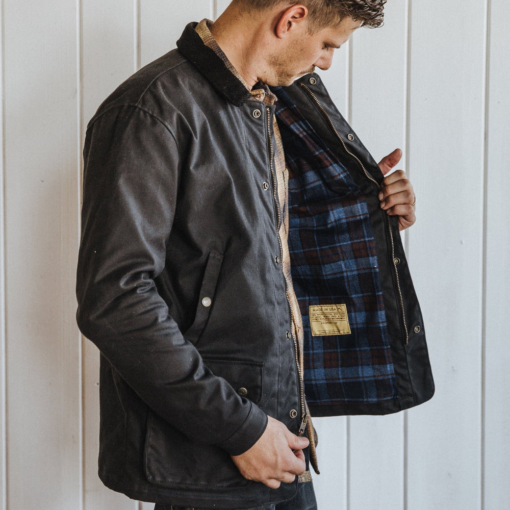 Field Jacket - Waxed Black