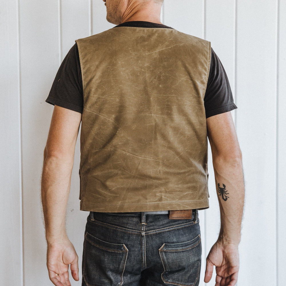 Nomad Vest - Field Tan Bradley Mountain