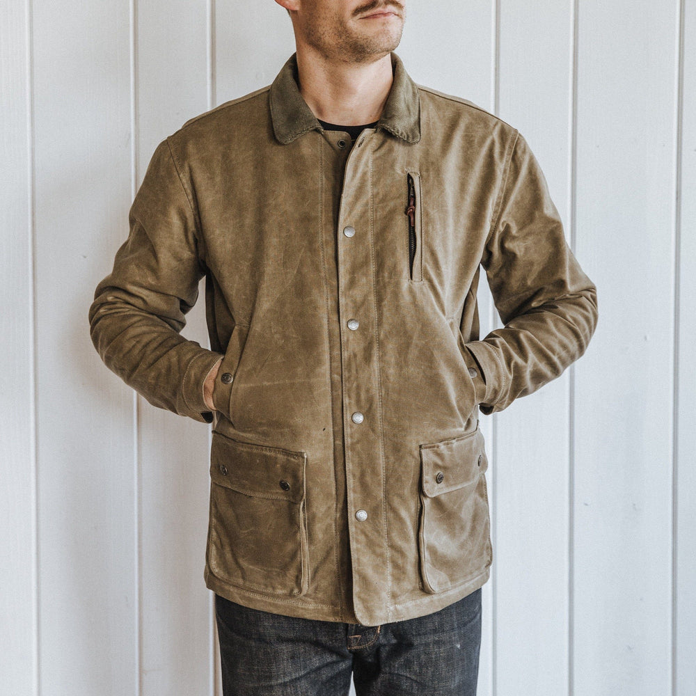 Field Jacket - Waxed Tan