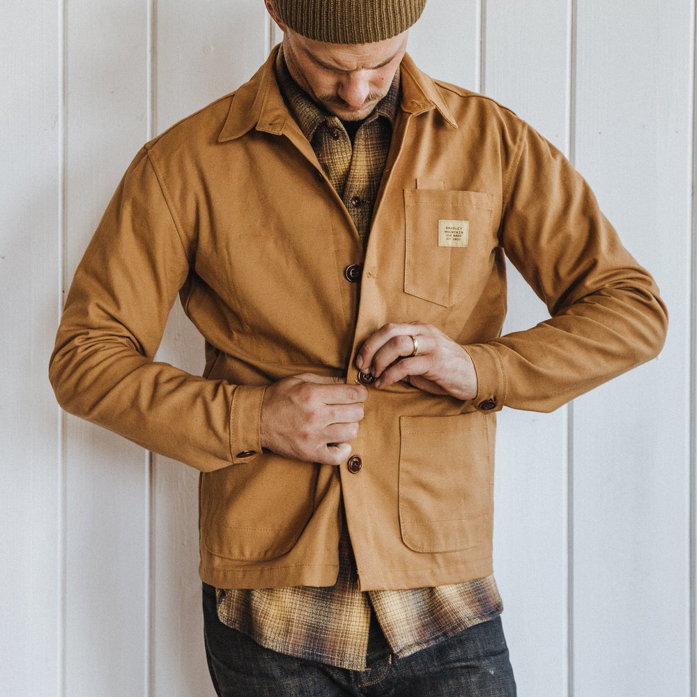 Edison Chore Coat - Lightweight Harvest