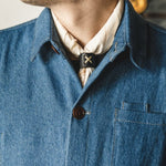 Land Bandana - Japanese Selvedge - Natural Accessories Bradley Mountain