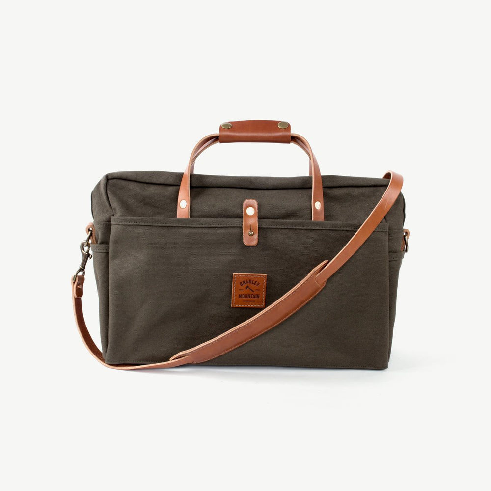 Courier Briefcase - Drab