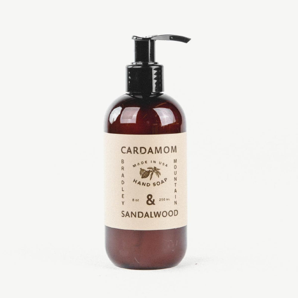 Hand Soap - Cardamom & Sandalwood Bradley Mountain