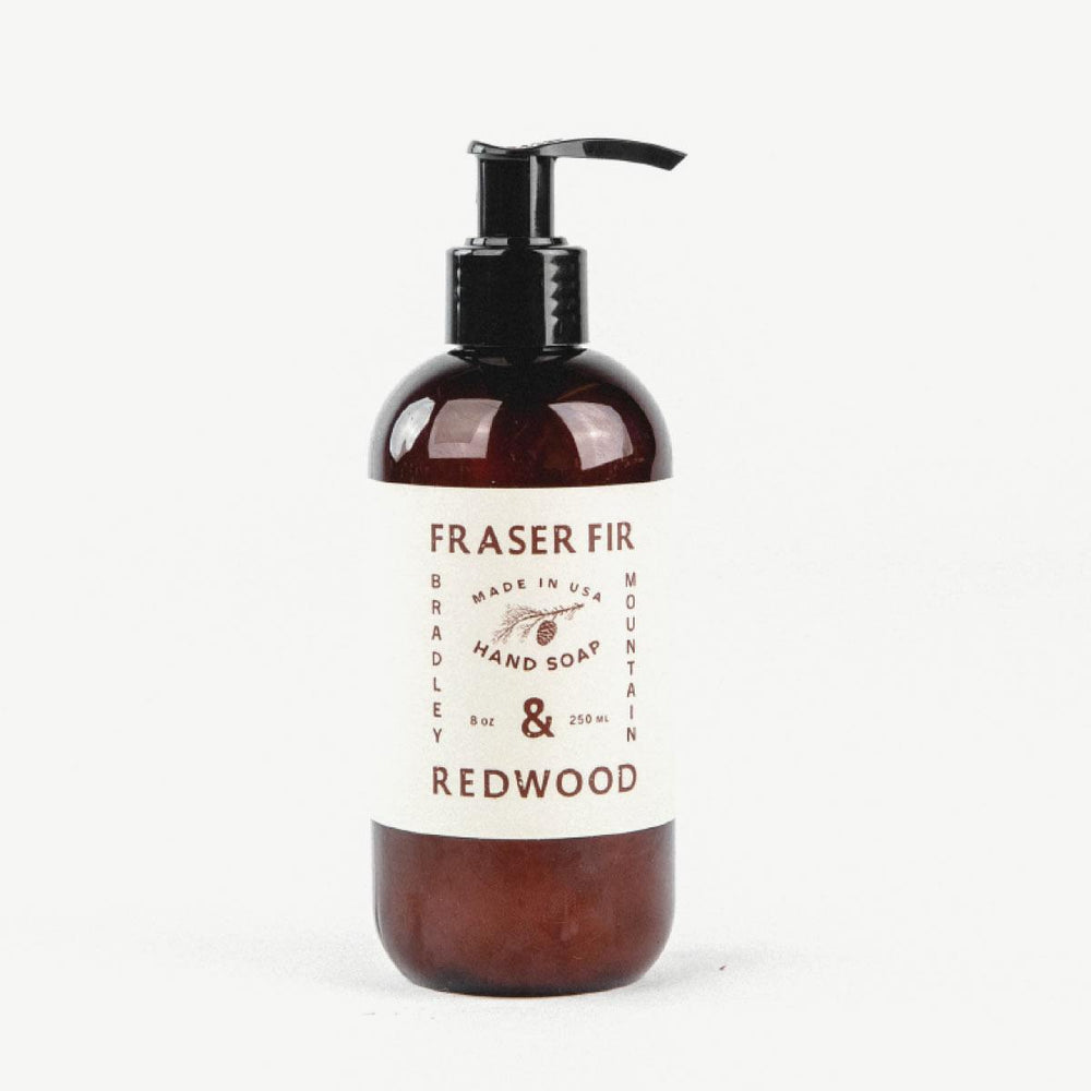 Hand Soap - Fraser Fir & Redwood Bradley Mountain