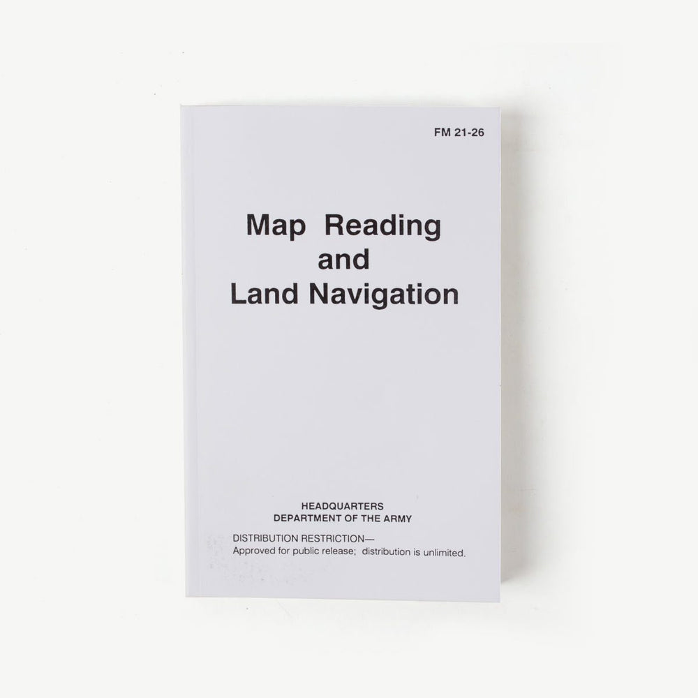 Map Reading & Land Navigation Book