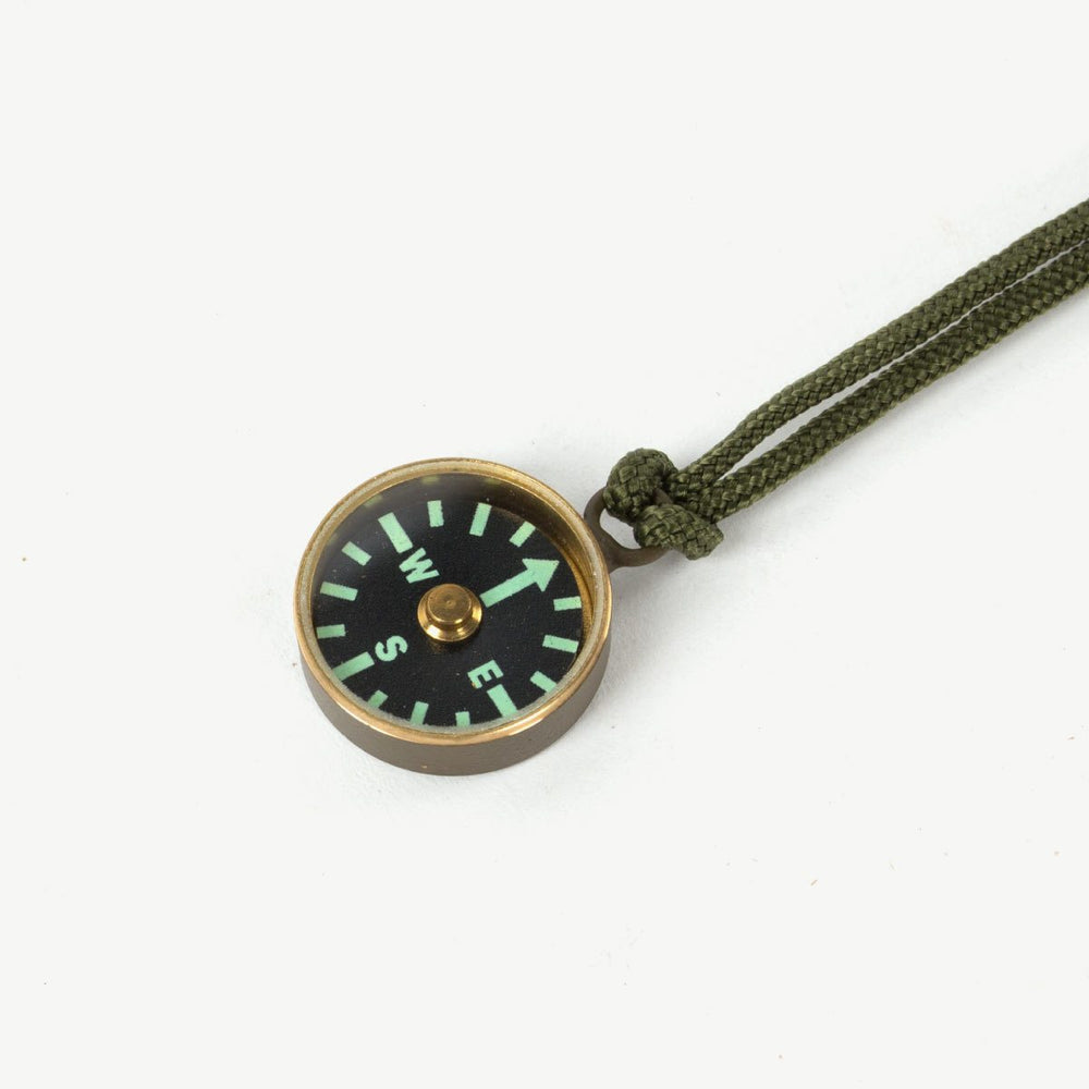 Mini Brass Compass Bradley Mountain