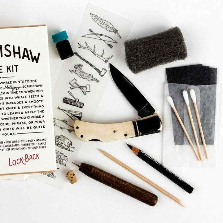 Scrimshaw Lockback Knife Kit