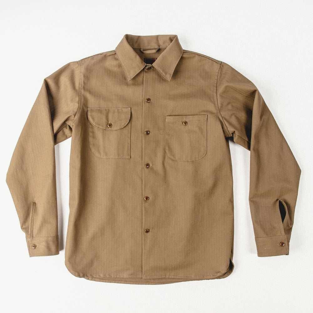 Herringbone Workshirt Bradley Mountain