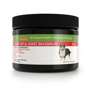 Hypoallergenic 7 Way Hip & Joint Maximum   Dog Joint Supplement  Made in the USA
