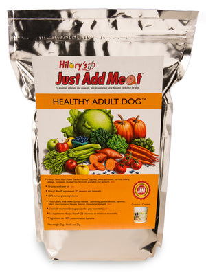 HILARY'S BLEND JUST ADD MEAT™ HEALTHY ADULT DOG - WellyTails Inc.