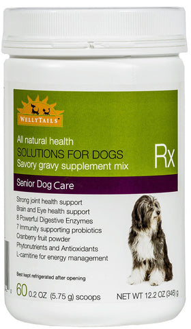 WellyTails Senior Dog Care Rx Supplement 346g/12.2 oz. (60 x 5.75g scoops)