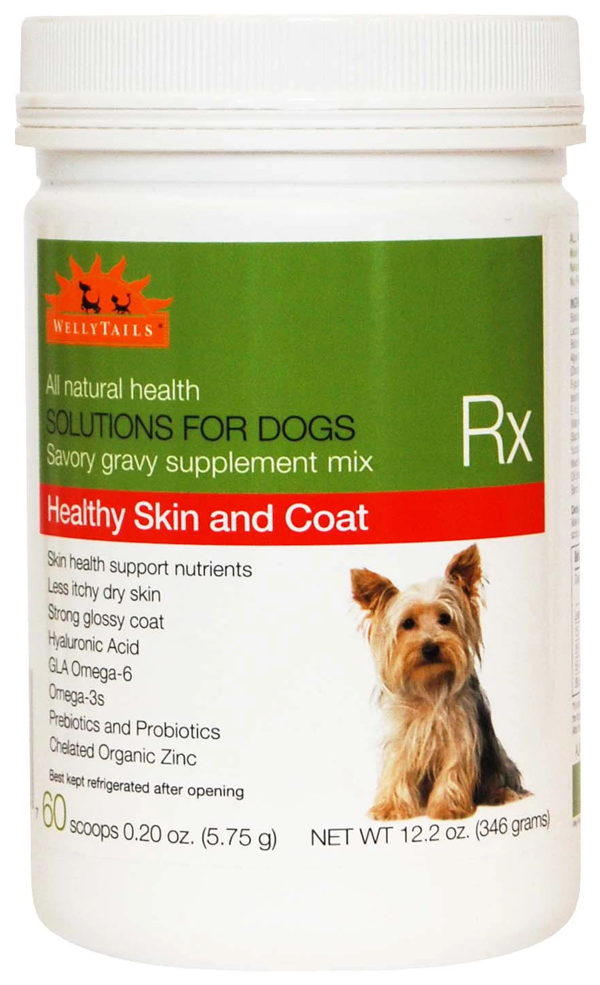 Welly Tails Omega 3 Dog Supplement for Healthy Skin & Coat