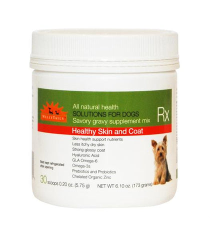 Welly Tails Healthy Skin & Coat Dog Rx Supplement - WellyTails Inc.
