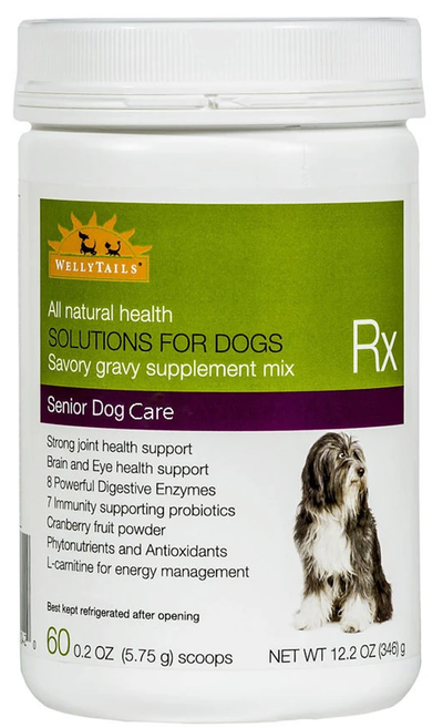 WellyTails Senior Dog Nutritional Supplement for Joint and Urinary Tract Health