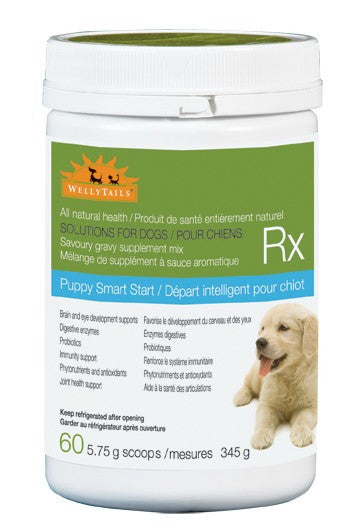 Puppy Smart Start 345 grams Puppy Vitamins - WellyTails Inc.