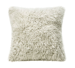 ULU Curly Sheepskin Pillow Dark Linen - Large