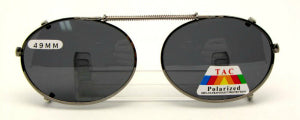 Oval Clip-on Sunglasses Photo