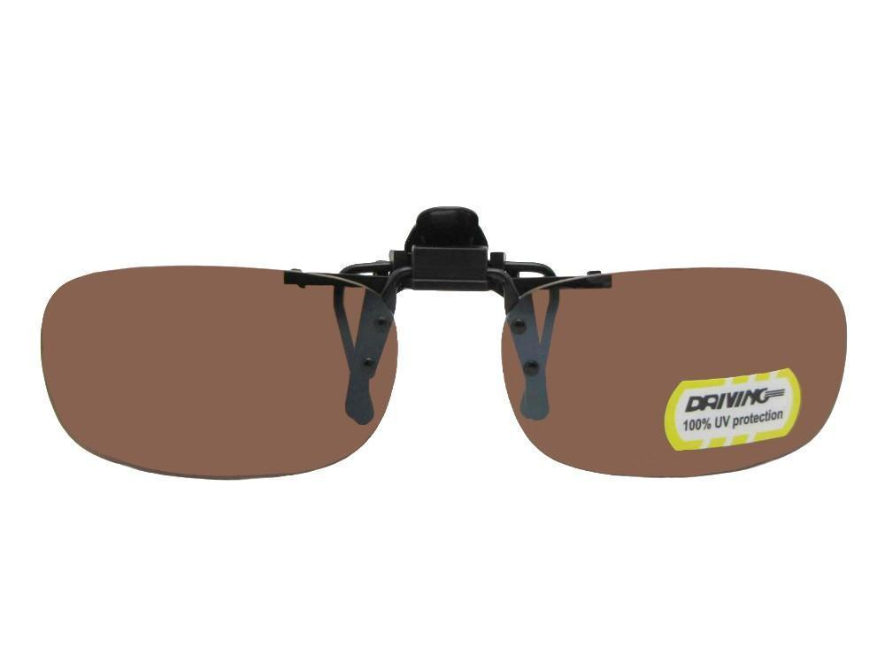 9a7930138d Flip Up Skinny Rectangle Non Polarized Amber