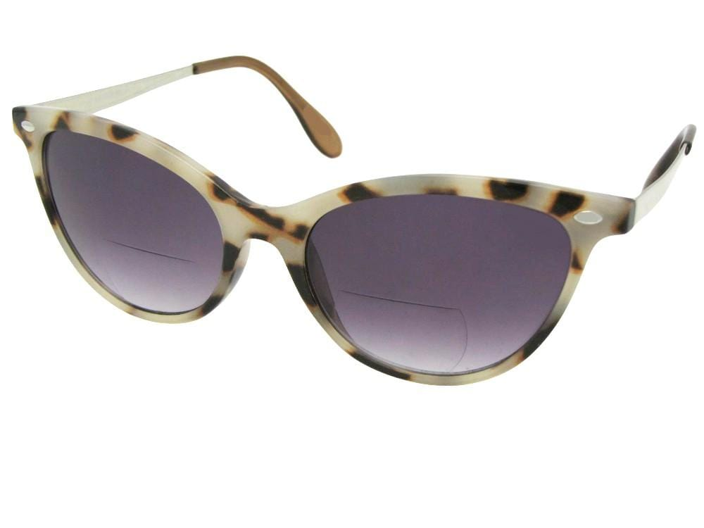 Women's Cat-eye Bifocal Sunglasses Style B105