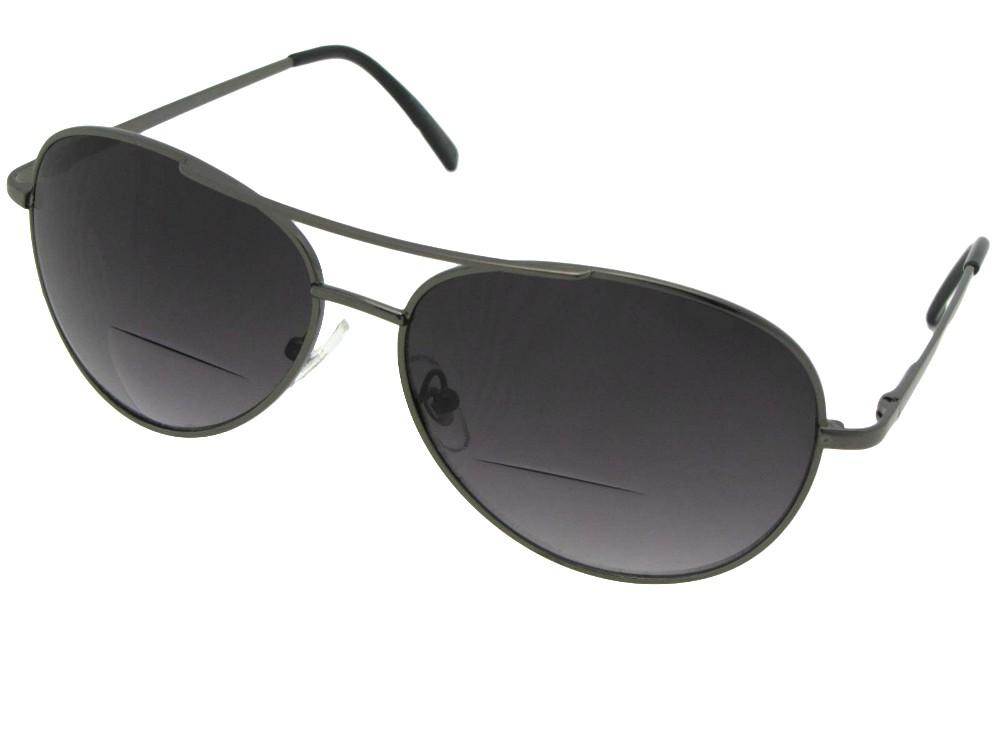Aviator Bifocal Sunglasses Style B15