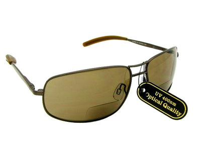 Big Bifocal Sunglasses for Men Style B36