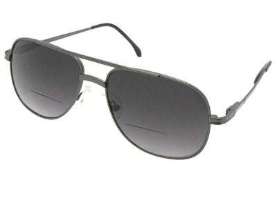 Square Aviator Bifocal Sunglasses Style B50