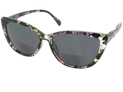 Cat Eye Women's Bifocal Sunglasses Style B84