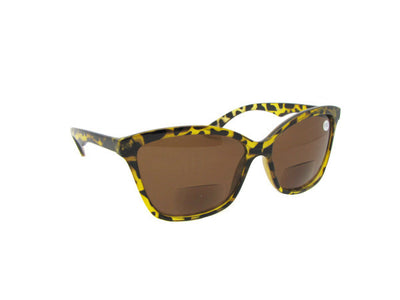 Retro Cat Eye Bifocal Sunglasses Style B86