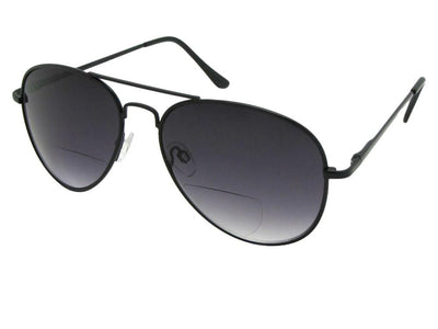 Men's Aviator Bifocal Sunglasses Style B83