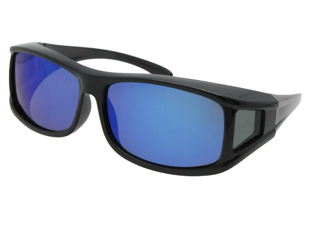 Polarized Color Mirror Fit Over Sunglasses Style F11