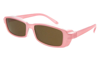 Small Pearl Color Fit Over Sunglasses Style F12