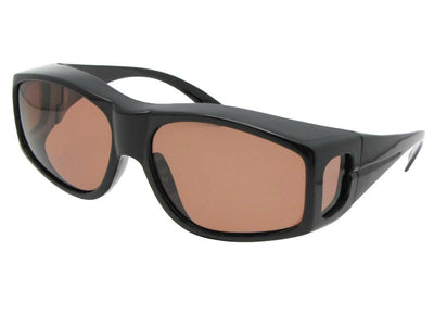 Large Wrap Around Polarized Fit Over Sunglasses Style F18