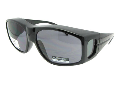 Large Non Polarized Fit Over Sunglasses Style F18