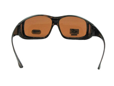 Largest Wrap Around Non Polarized Fit Over Sunglasses Style F19