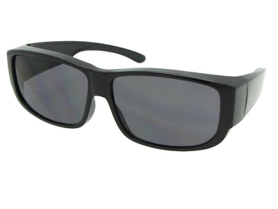 Style F27 Non Polarized Medium Size Sunglasses Over Glasses