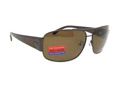 Modified Aviator Polarized Sunglasses Style PSR22
