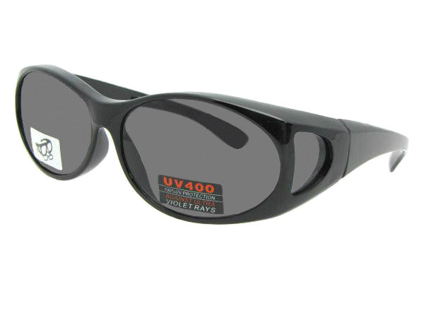 Style F32 Sunglasses Over Glasses