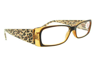 Animal Print Fashion Reading Glasses Style R45