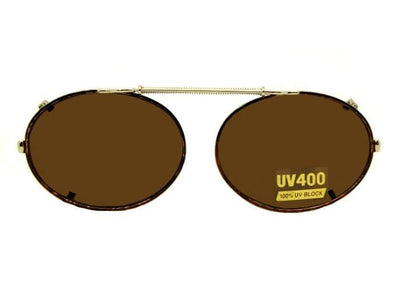 Oval Non Polarized Clip-on