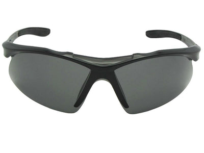 Polarized Semi Rimless Sport Sunglasses Style PSR15