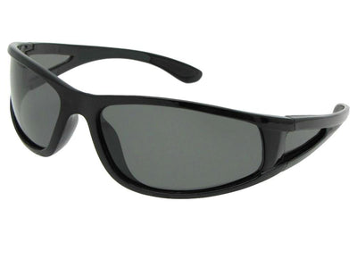 Polarized Wrap Around Sport Sunglasses Style PSR2