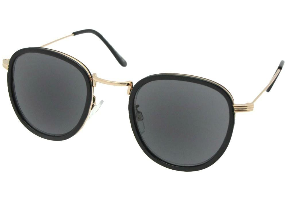Semi Round Retro Reading Sunglasses Style R104