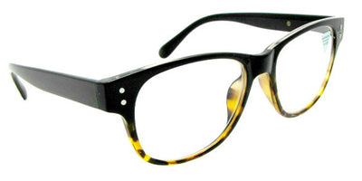 Style R12 Reading Glasses Black Tortoise Front Frame