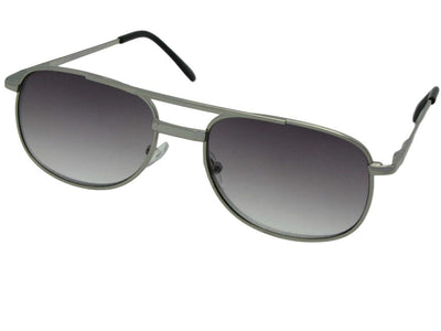 Small Modified Aviator Full Reading Lens Sunglasses Style R38
