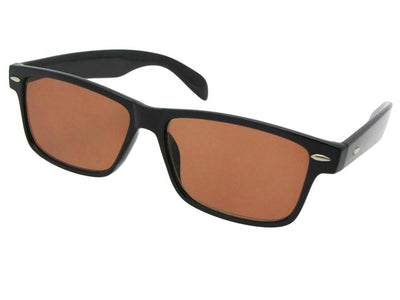 Amber Retro Reading Sunglasses Style R65